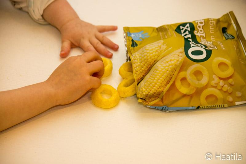Buzzailua: Organix Finger Foods -sormiruoat
