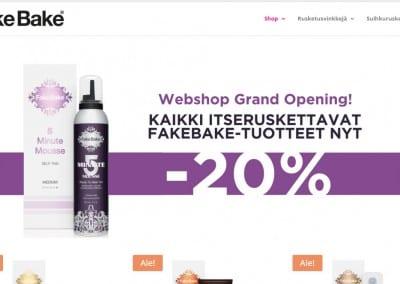 FakeBake Finland