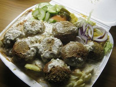 Falafel-annos Hadian tyyliin