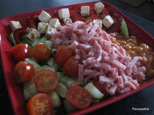 Salaattibaari kotona
