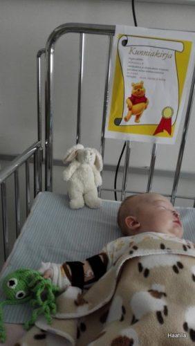 Vauva osastolla