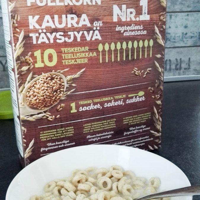 Buzzailua: Cheerios Kaura -aamiaismurot
